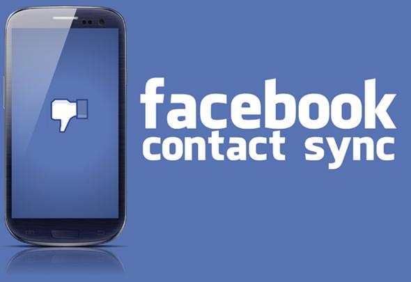 Синхронизиране на контакти от Facebook с Android